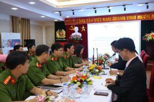 Kiểm định phương tiện PCCC và tiếp nhận thiết bị phục vụ công tác kiểm định từ Viện PCCC Hàn Quốc (KFI)